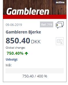 Succes for Gambleren